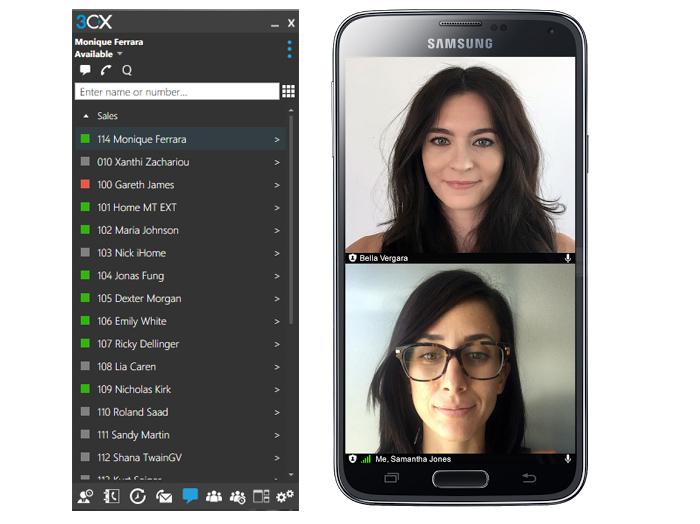 Der neue 3CX WebMeeting Windows- und Android-Client