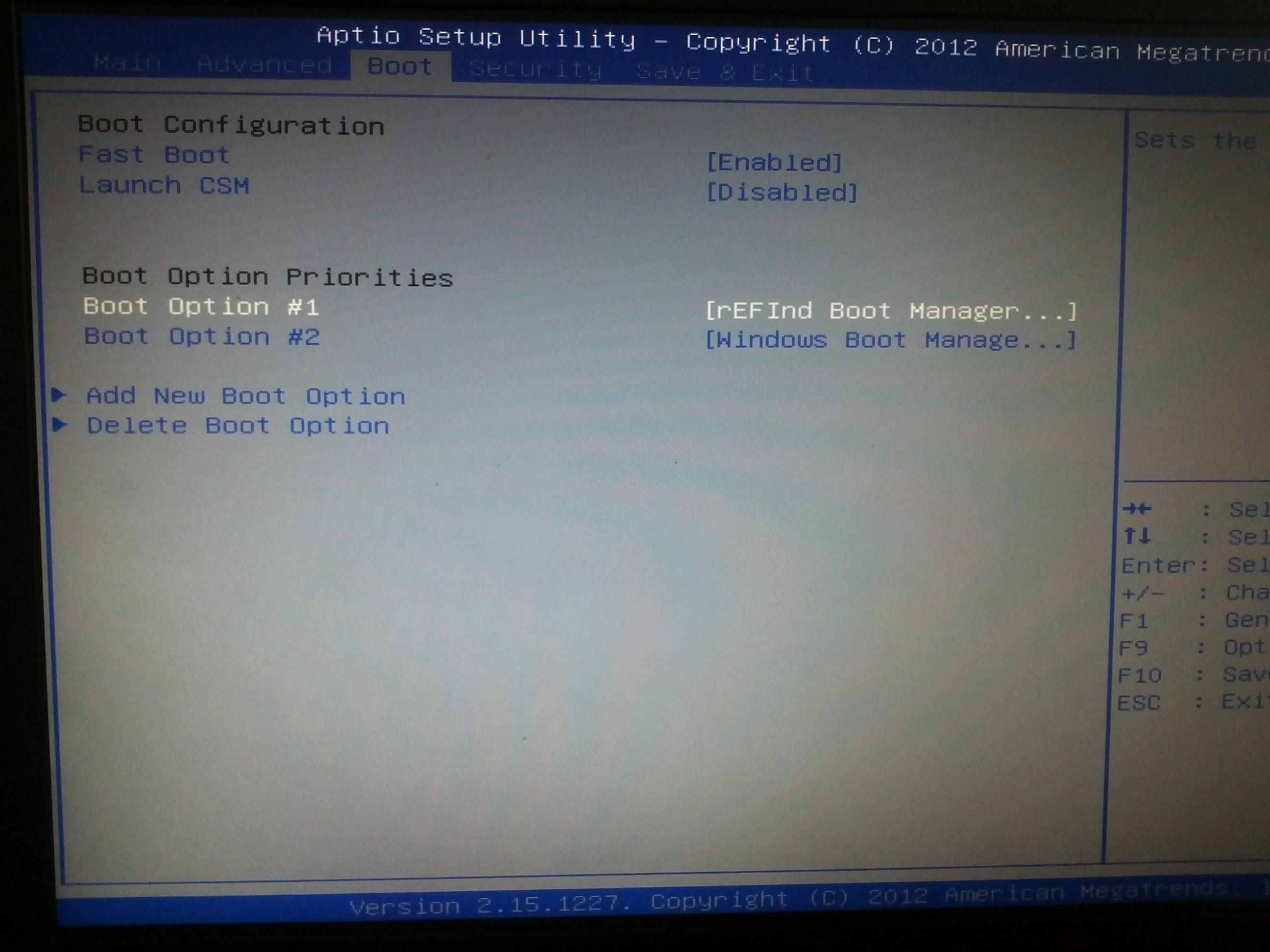 Dual boot ArchLinux и Windows 8 на UEFI без GRUB c помощью rEFInd / Хабрахабр