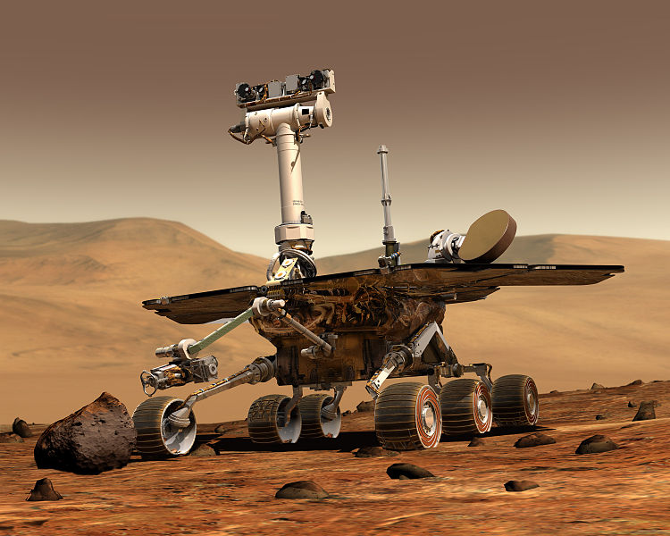 Opportunity на Марсе работает уже 10 лет