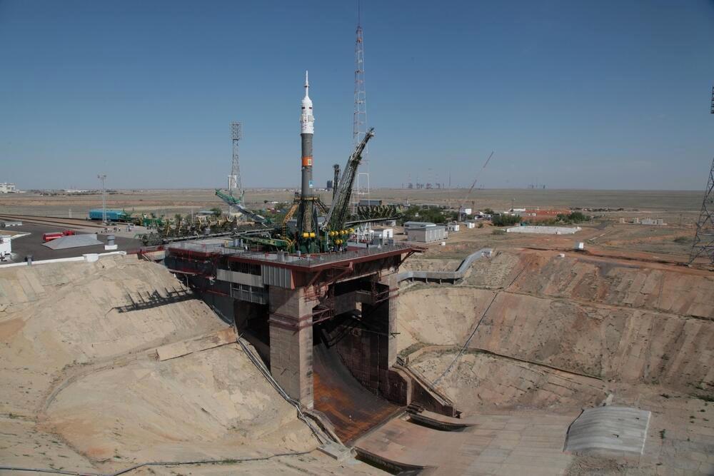 Прямая трансляция запуска Союз ТМА–13М №713