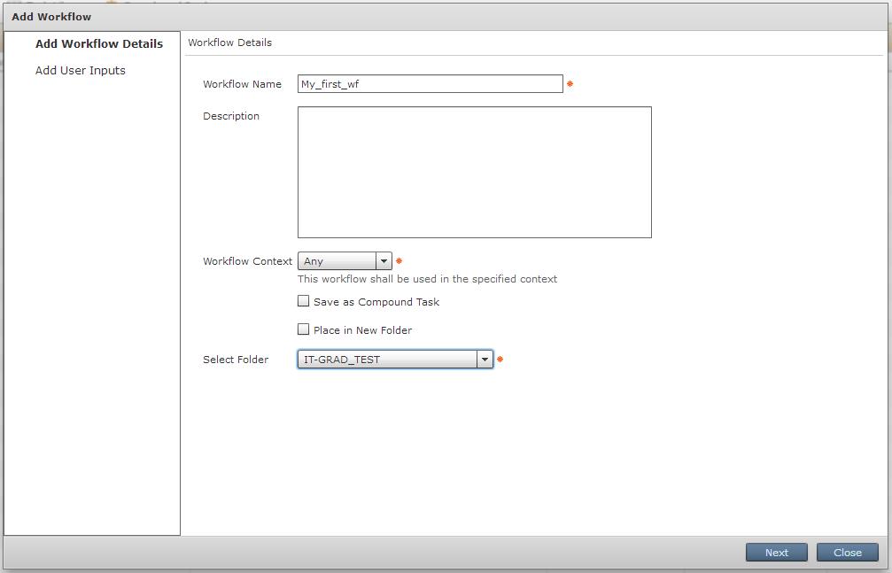 Workflow Details