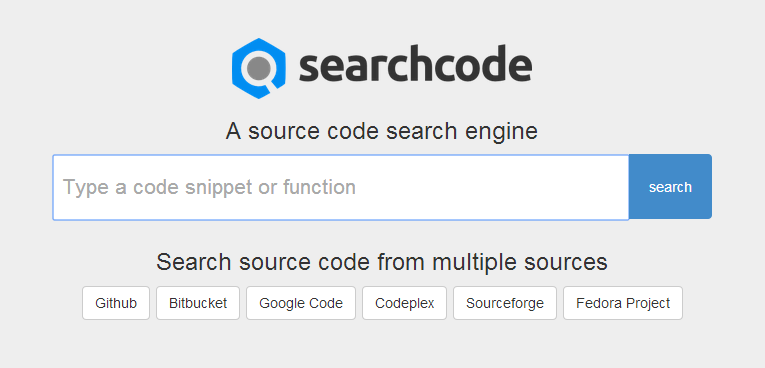 Searchcode 2.0