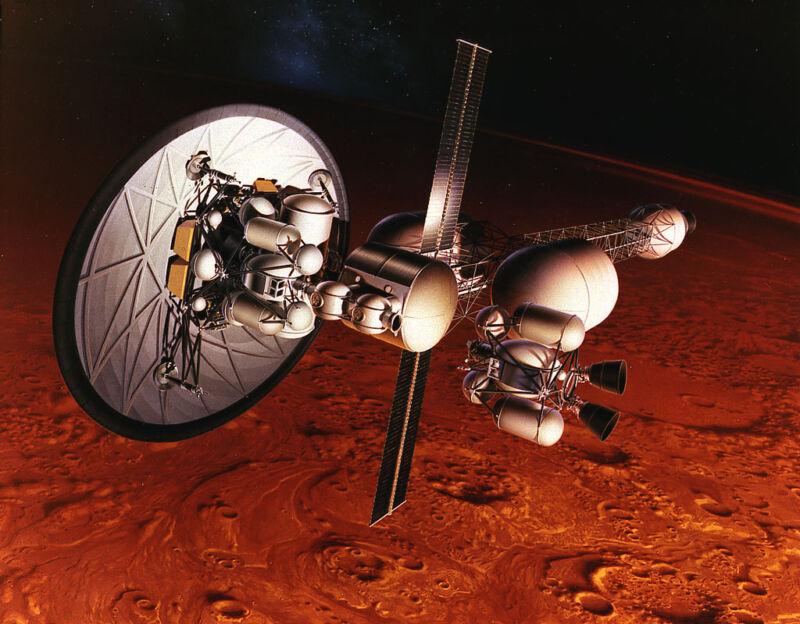 НАСА проложить путь людям на Марс может лишь ракета с ядерным реактором