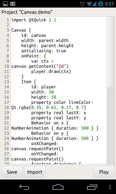 QML Creator: разработка на QML под Android / СоХабр