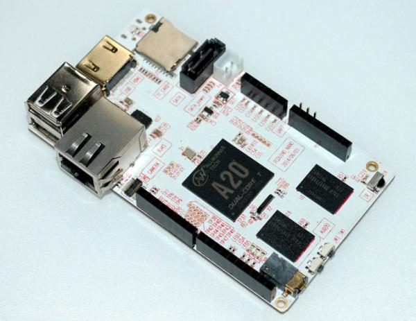 PcDuino3 Nano, серьезный конкурент Raspberry Pi B+, за $ 39
