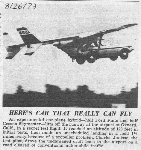 Когда взлетим? Обзор летающих авто (и мотоцикла)