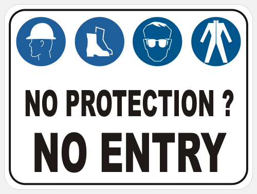 No protection — no entry