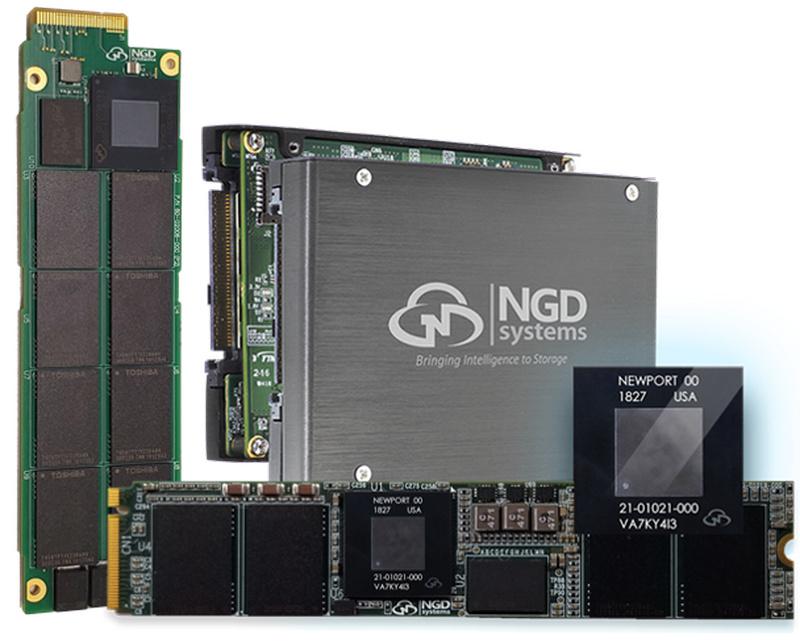 NGD выпустила 12 ТБ SSD со встроенным 4-ядерным ARM-процессором