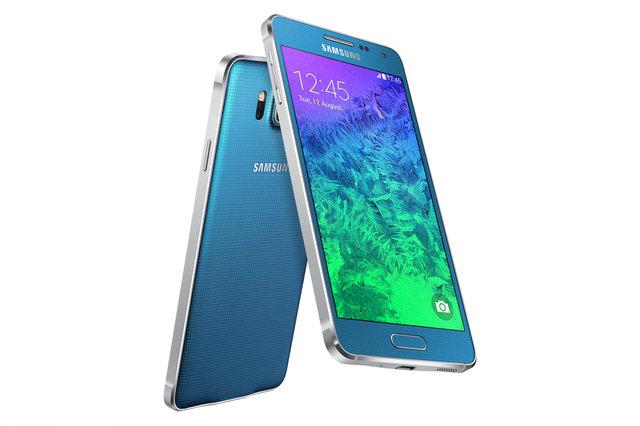 Samsung отказался от пластикового дизайна и представил металлический Galaxy Alpha (видео)