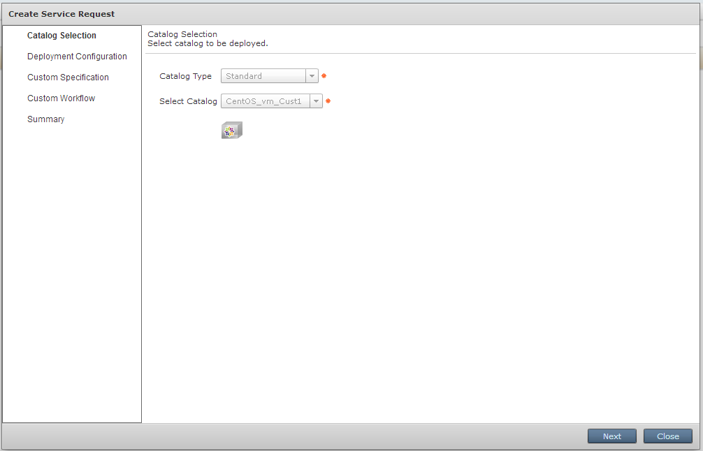 Virtual Machine Request Form