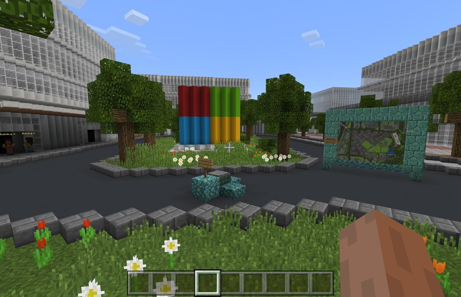 Microsoft заказала модель нового кампуса в Minecraft