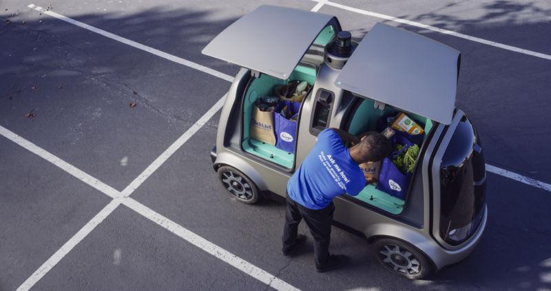 Овощная сингулярность: компания Kroger запустила робокурьеров для заказчиков овощей и фруктов в Аризоне
