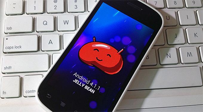 Android-телефонов на Jelly Bean уже больше, чем на Gingerbread