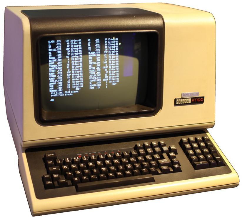 [Перевод] IBM, память на линиях задержки и история дисплея 80×24 символа