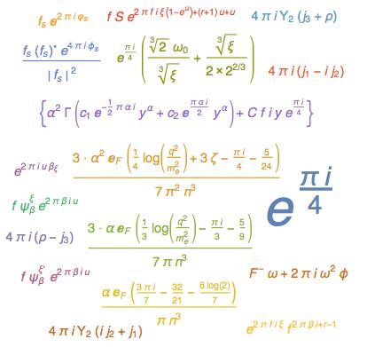 WordCloud формул, которые станут проще