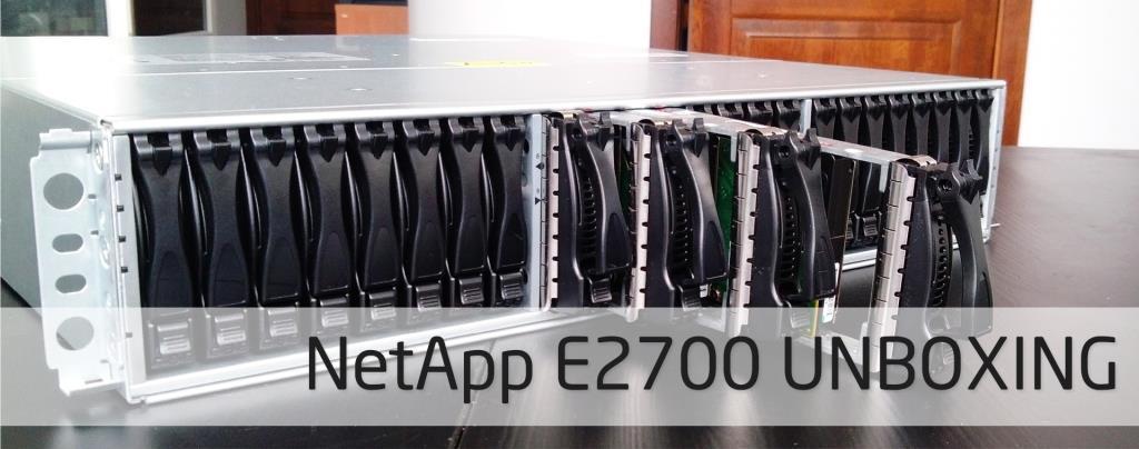 NetApp E2700