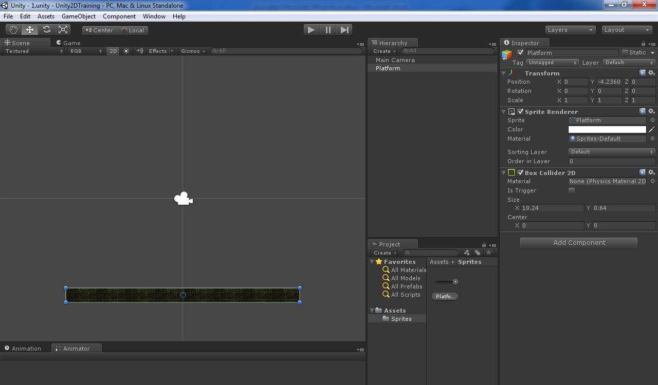 Программа для создания персонажей 2d игры unity 5