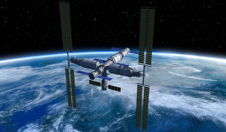 Китай приступил к установке своей космической станции на ракете-носителе для запуска на орбиту