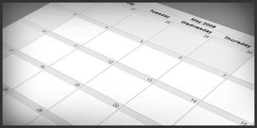 jMonthCalendar – Full Month Event Calendar Using jQuery