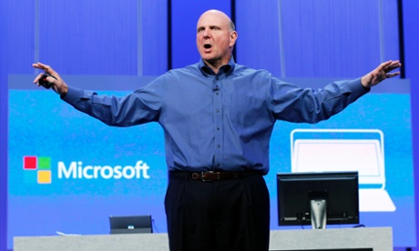 Трогательное прощание Стива Балмера с Microsoft