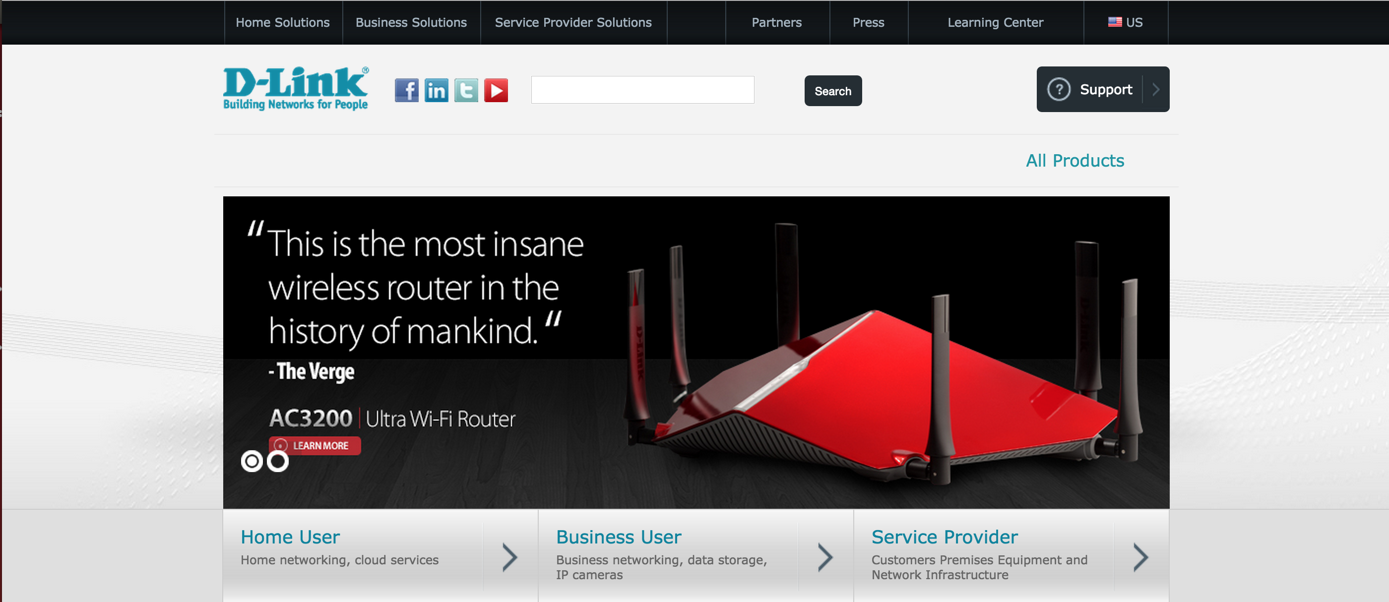 Insane router