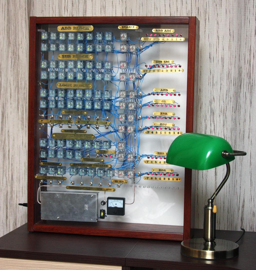 A fistful of relays, или компьютер на электромагнитных реле. Часть 1 — АЛУ