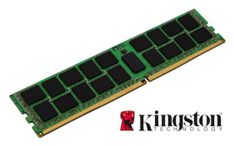 Модуль оперативной памяти Kingston. Обратите внимание на плотность упаковки чипов на плате.