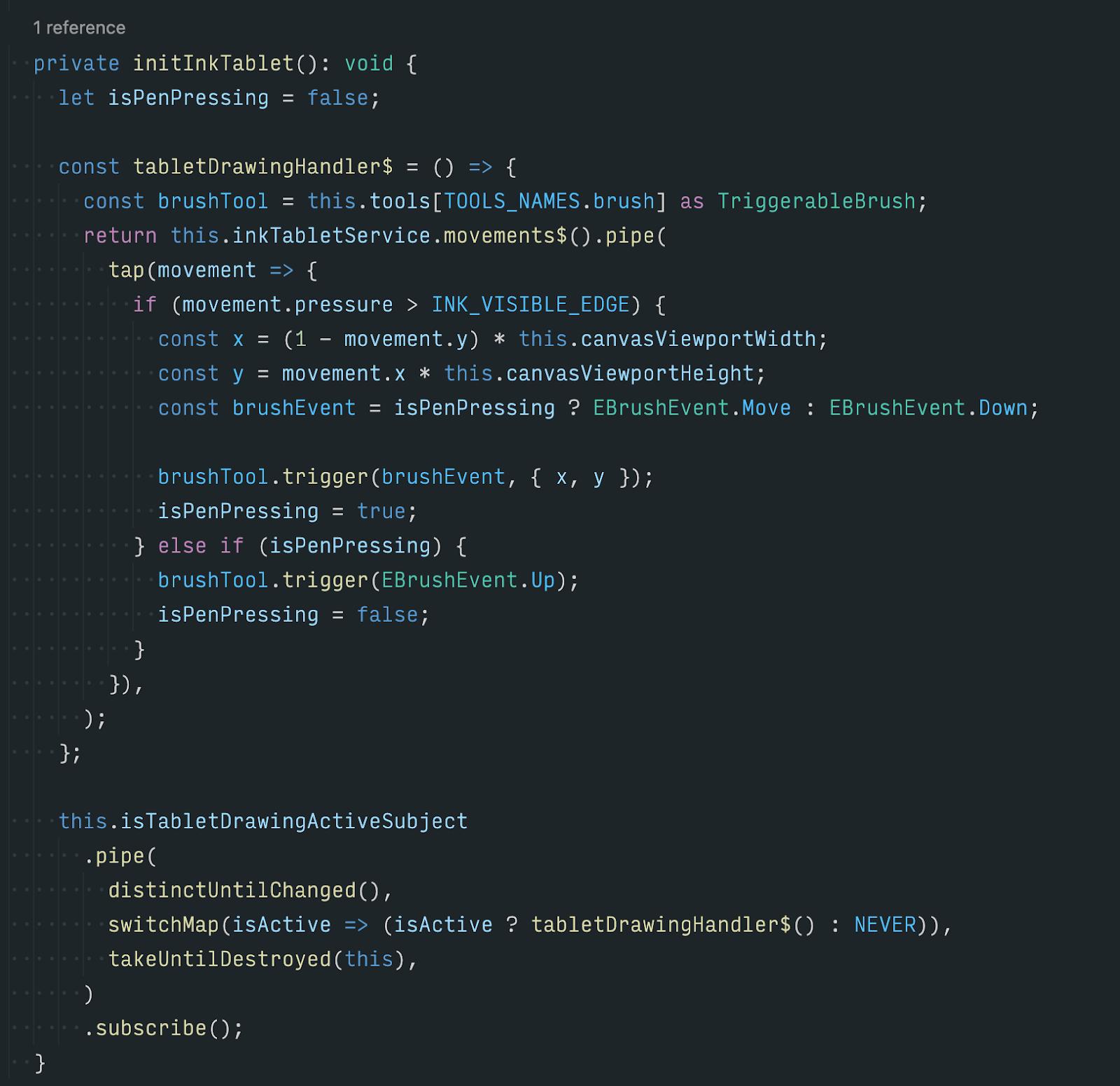 Получившийся код «нашего драйвера» занимает пару экранов.