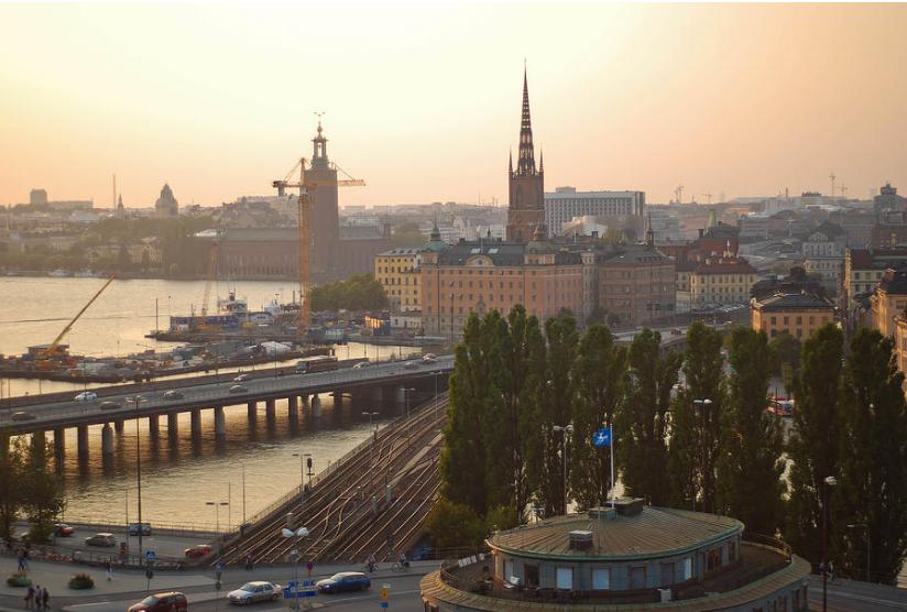 Летняя ночь в Стокгольме