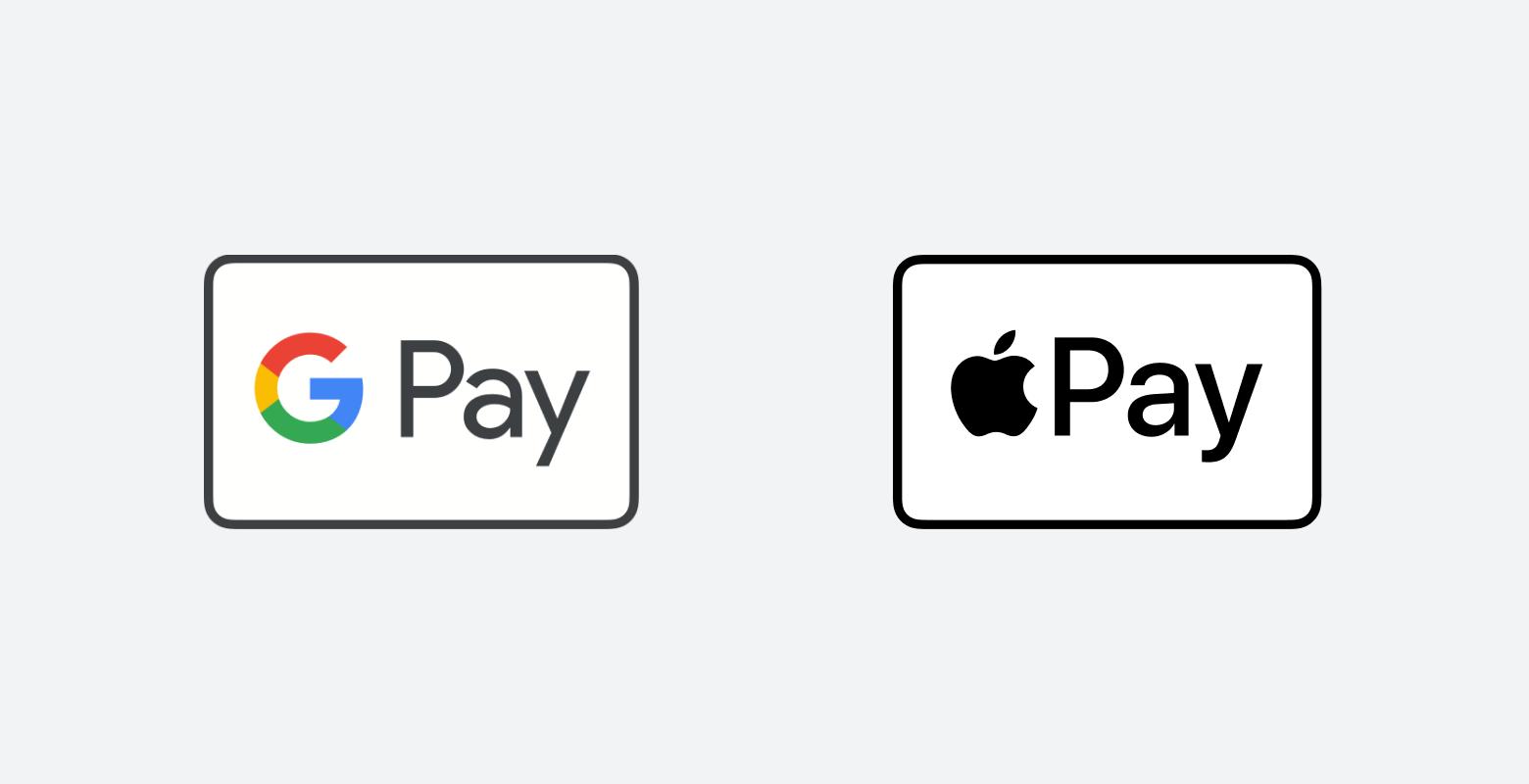 Google Pay и Apple Pay