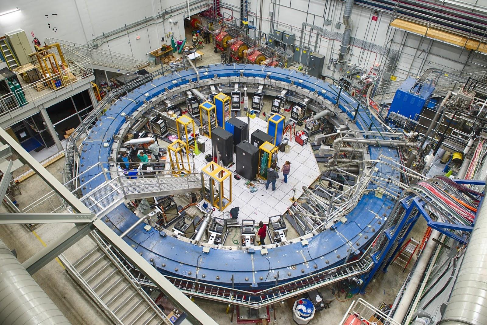 Электромагнит, использованный для эксперимента «Muon g-2» в Фермилабе