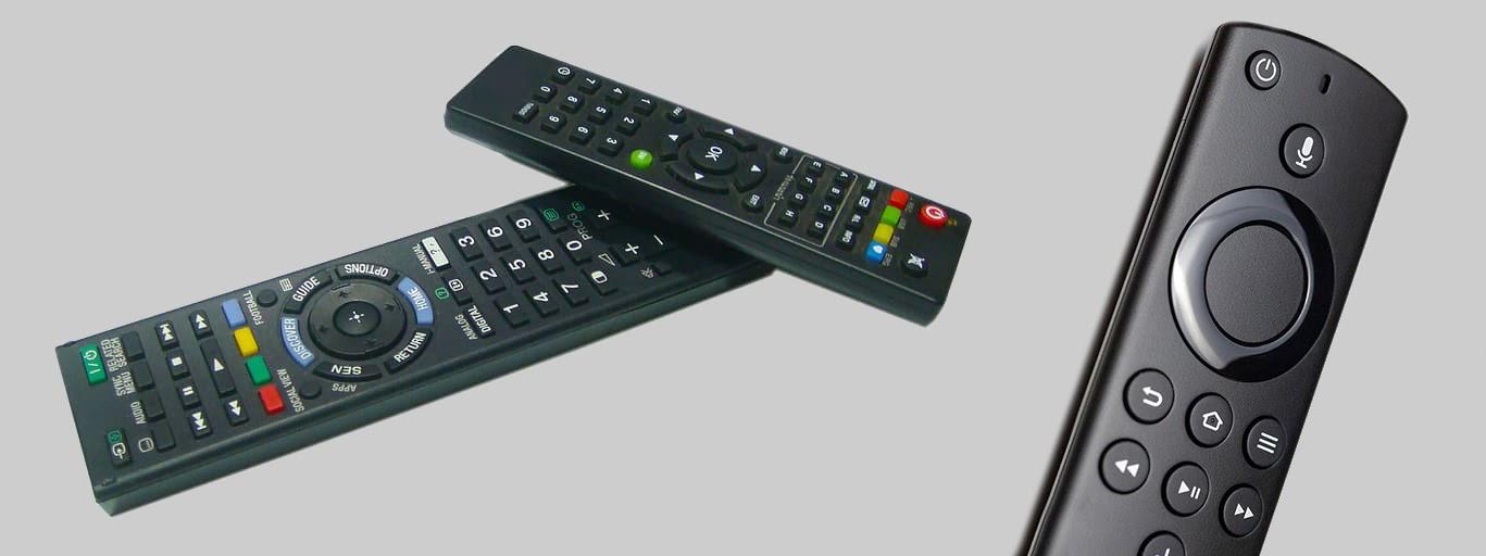 Старые модели пультов для ТВ и новая усовершенствованная версия