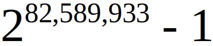 Новые рекорды найдено 51-ое простое число Мерсенна