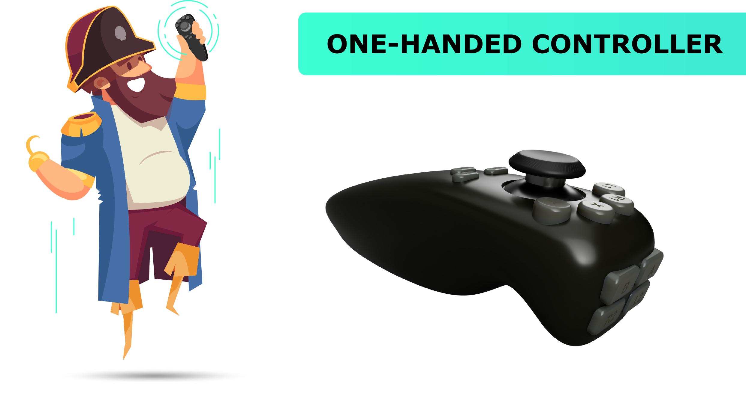 Игровой контроллер для одной руки, что так, а что не так