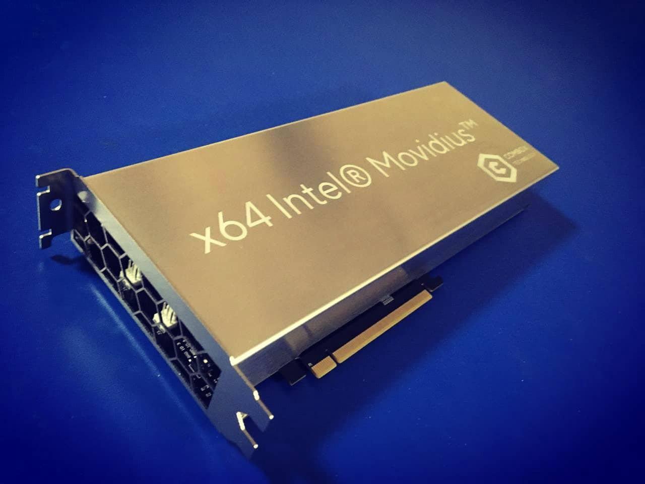 ComBox x64 Movidius Blade Board