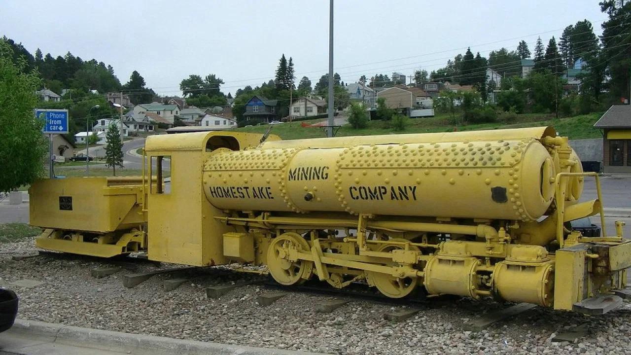 Сохраненный локомотив Портера. 1928 год.