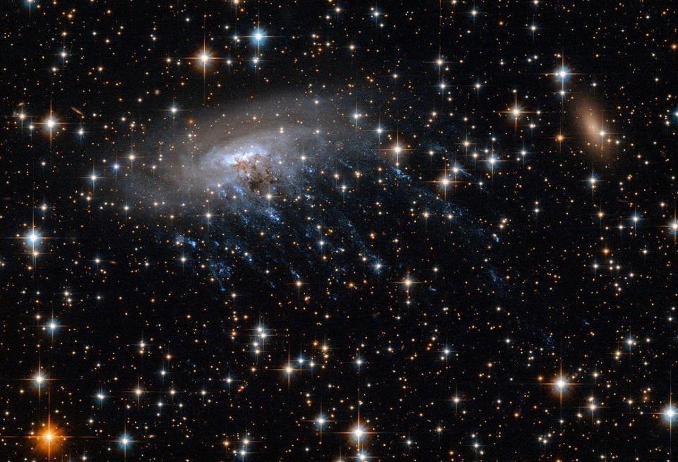 В наибольших масштабах движутся не только Земля и Солнце, но и вся Галактика и Местная группа галактик [далее – Местная группа], так как невидимые силы притяжения в межгалактическом пространстве должны складываться.