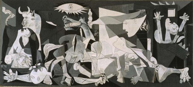 Представление боли в картине Пабло Пикассо. Герника. 1937