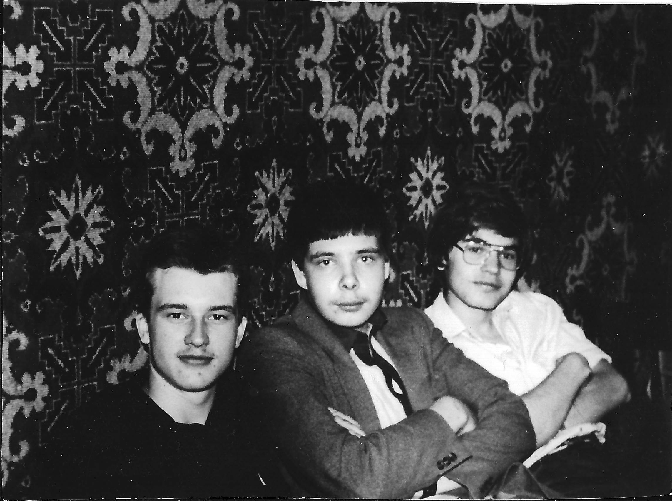 Участники ASP Corp. Слева направо: Александр Гречишкин, Сергей Фоменко, Павел Успенский