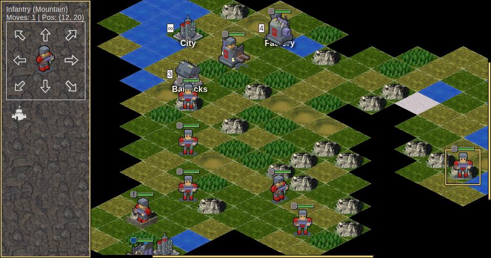 Скриншот готовой игры