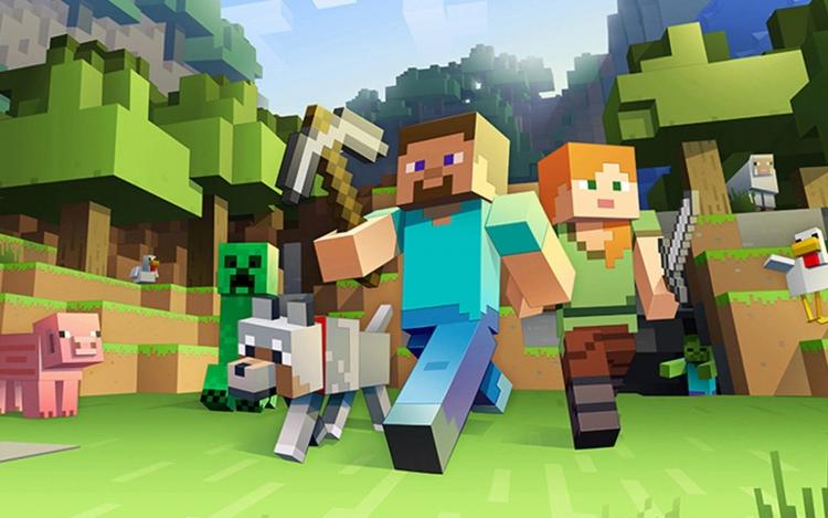 Minecraft - самая продаваемая игра в истории (продано более 200 миллионов копий игры)