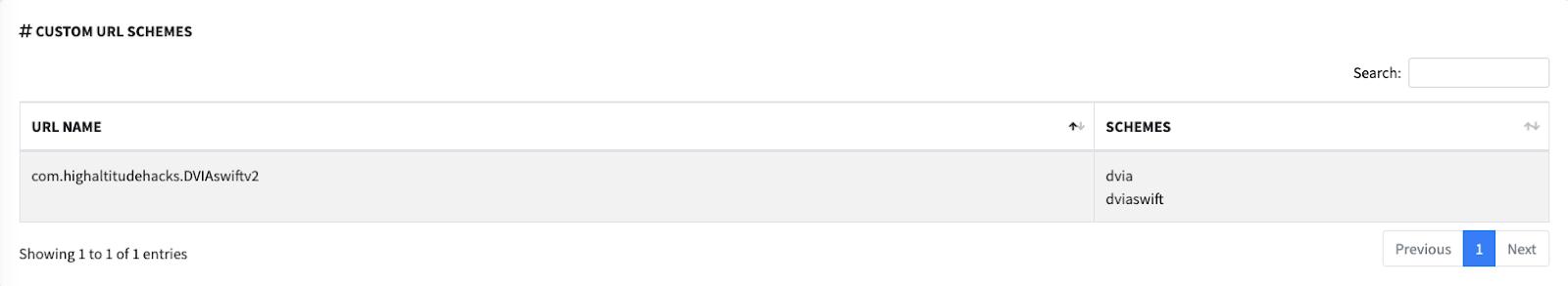 Отображение кастомных URL схем в MobSF