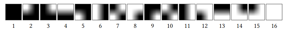 Обобщённый алгоритм визуальной криптографии