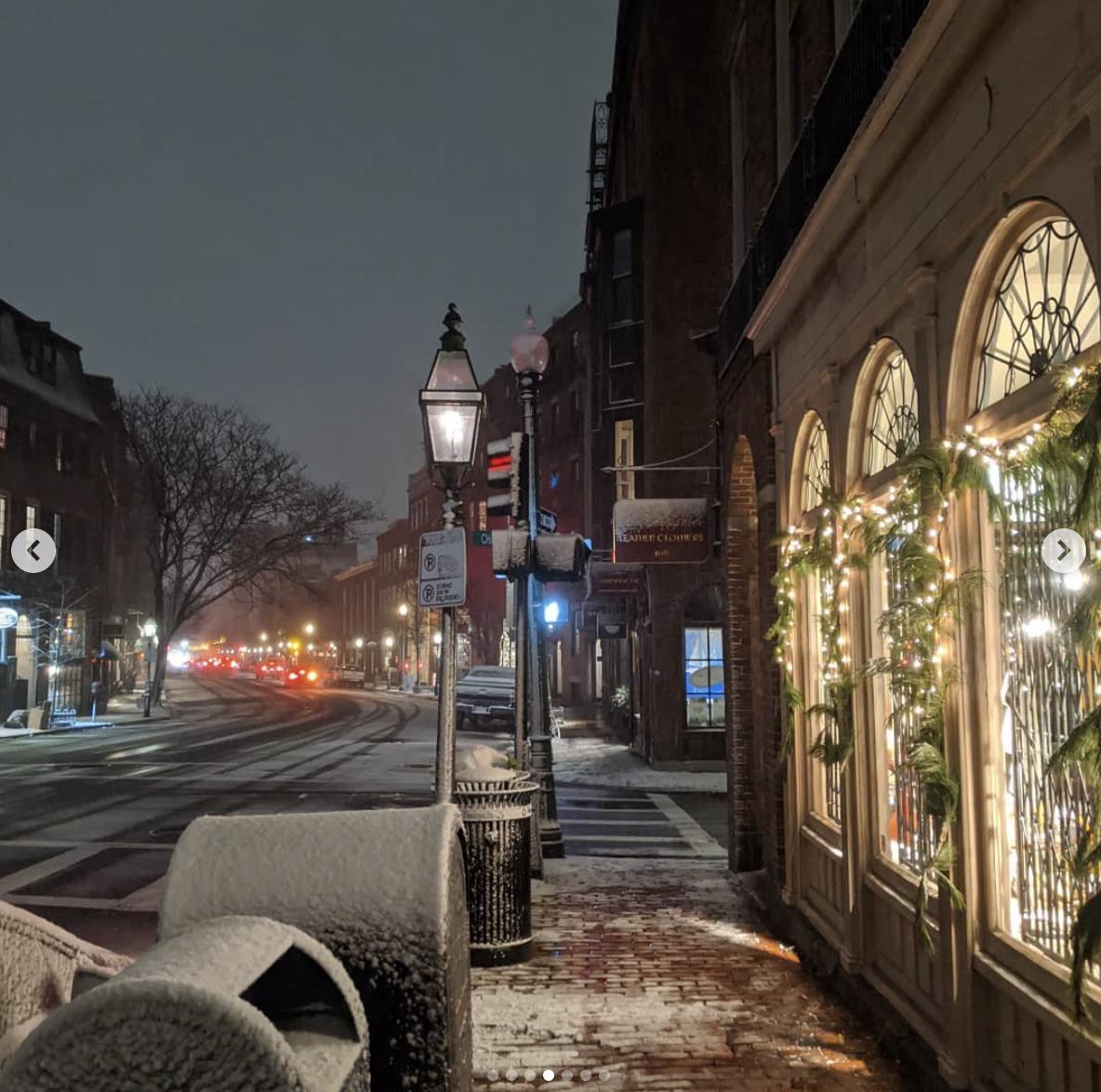 Beacon Hill - самый старый район Бостона