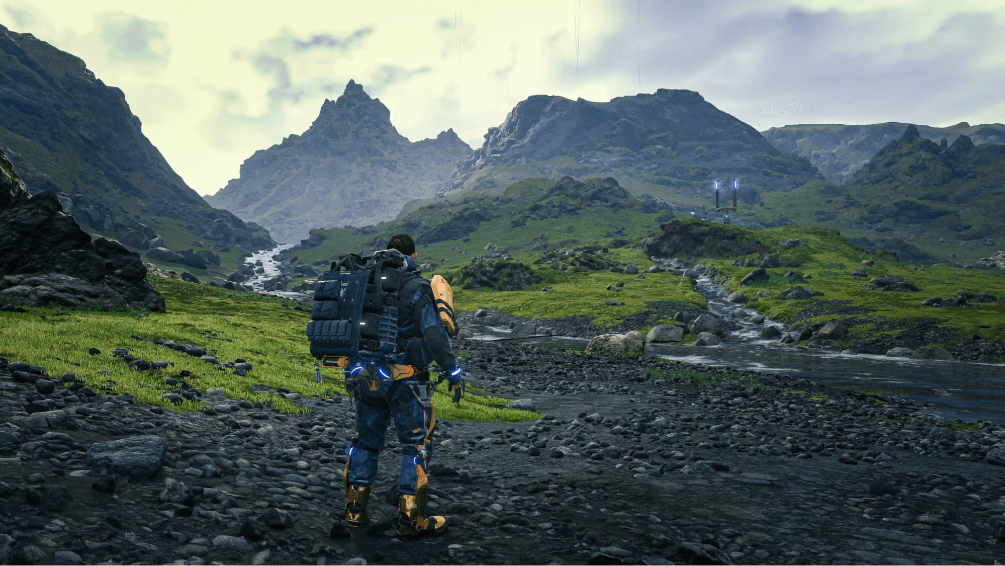 In the game world of Death Stranding, it is dangerous to perform even the simplest actions: one wrong step and the hero can get seriously injured