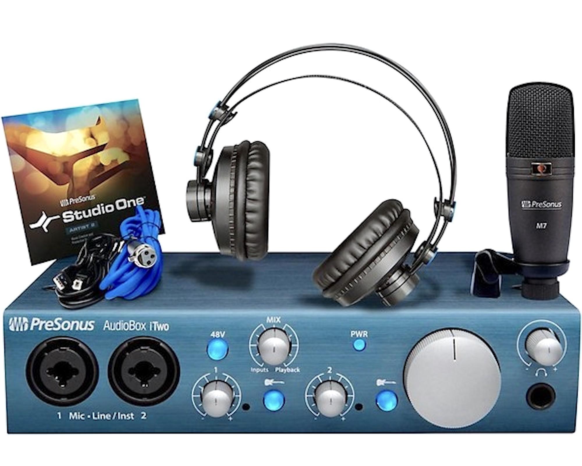 Бандл PreSonus AudioBox iTwo Studio — Audiomania.ru