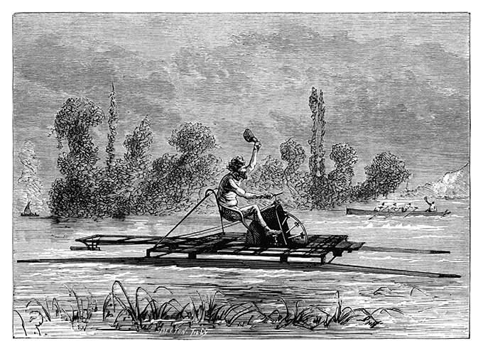 Автор Joseph Burn Smeeton, книга Les re?cre?ations scientifiques, год публикации1884