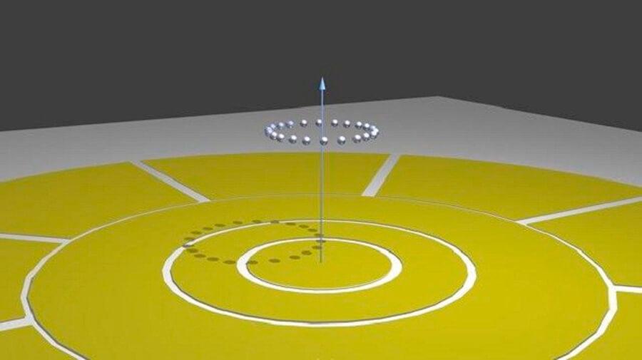Изображение эксперимента в Мэрилендском университете