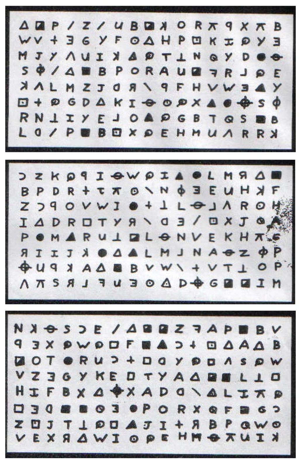 408-символьный шифр Зодиака